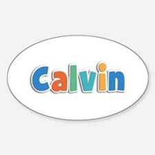 Calvin Spring11B Oval Decal