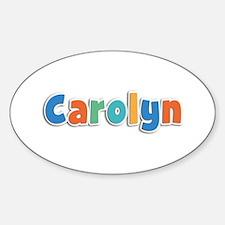 Carolyn Spring11B Oval Decal