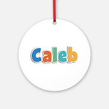 Caleb Spring11B Round Ornament
