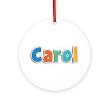 Carol Spring11B Round Ornament