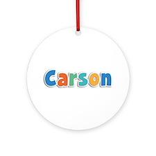 Carson Spring11B Round Ornament