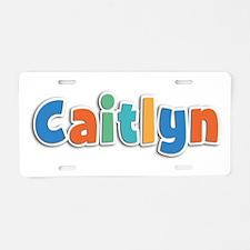 Caitlyn Spring11B Aluminum License Plate