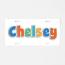 Chelsey Spring11B Aluminum License Plate