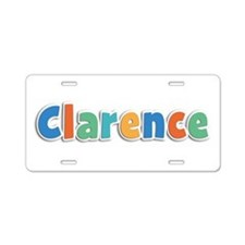 Clarence Spring11B Aluminum License Plate