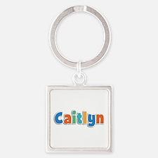 Caitlyn Spring11B Square Keychain