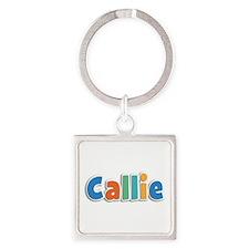 Callie Spring11B Square Keychain
