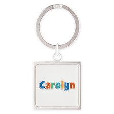 Carolyn Spring11B Square Keychain