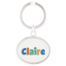 Claire Spring11B Oval Keychain