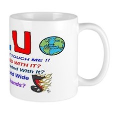 Flu Warning Mug