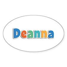 Deanna Spring11B Oval Decal