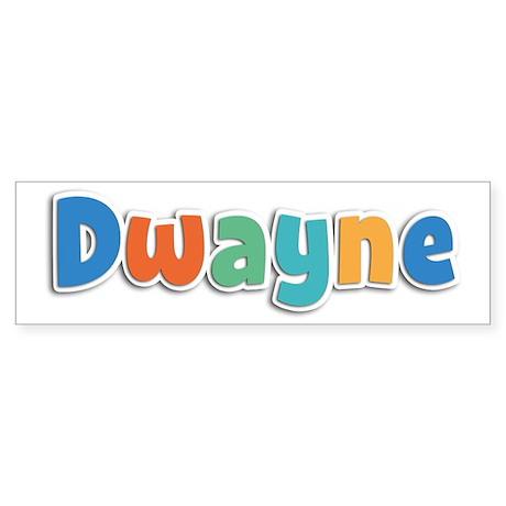 Dwayne Spring11B Bumper Sticker