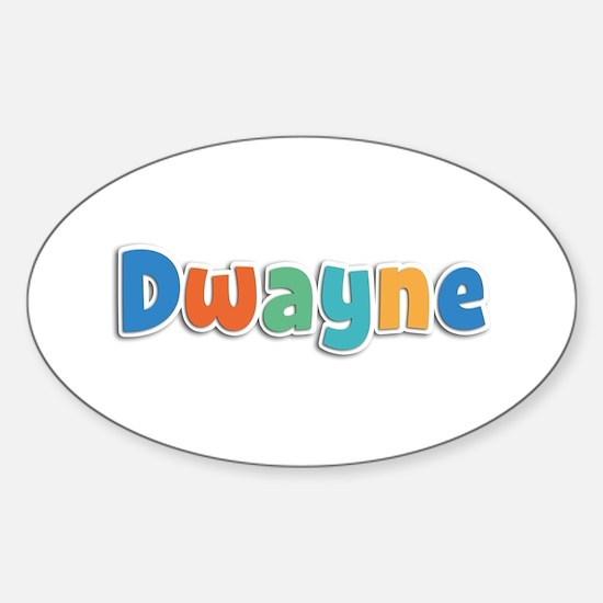 Dwayne Spring11B Oval Decal