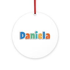 Daniela Spring11B Round Ornament