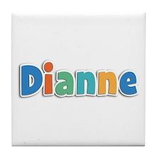 Dianne Spring11B Tile Coaster