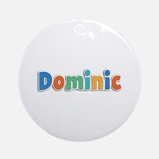 Dominic Spring11B Round Ornament