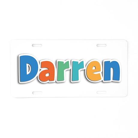 Darren Spring11B Aluminum License Plate