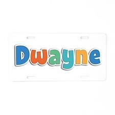 Dwayne Spring11B Aluminum License Plate