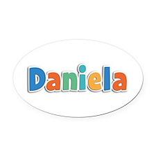 Daniela Spring11B Oval Car Magnet