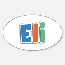 Eli Spring11B Oval Decal