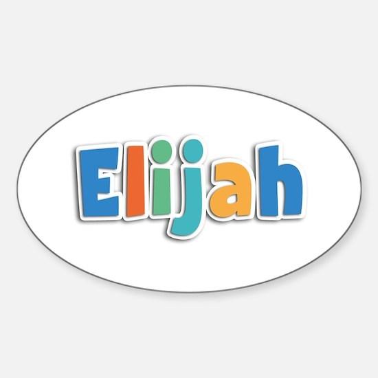 Elijah Spring11B Oval Decal
