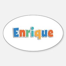 Enrique Spring11B Oval Bumper Stickers