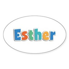 Esther Spring11B Oval Decal