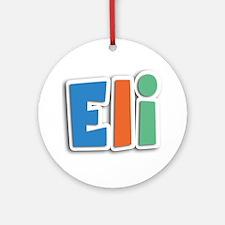 Eli Spring11B Round Ornament