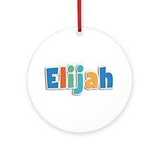 Elijah Spring11B Round Ornament