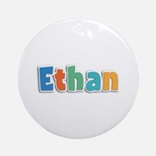 Ethan Spring11B Round Ornament