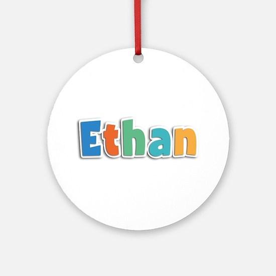 Ethan Spring11B Round Ornament