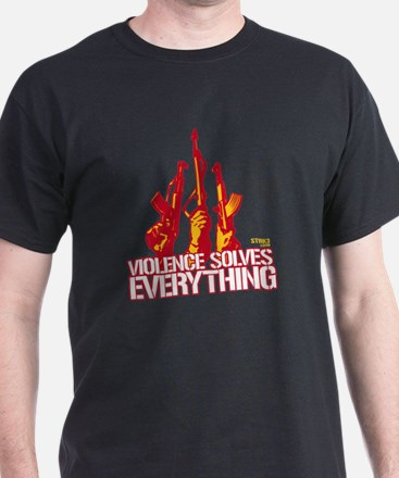 Violence Solves Everything T-Shirt