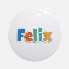 Felix Spring11B Round Ornament