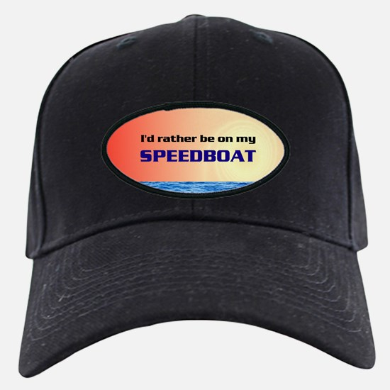 speedboat Baseball Hat