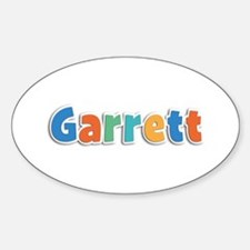 Garrett Spring11B Oval Decal