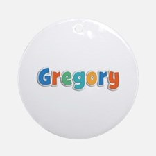 Gregory Spring11B Round Ornament