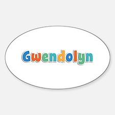 Gwendolyn Spring11B Oval Decal