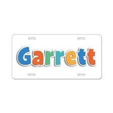 Garrett Spring11B Aluminum License Plate