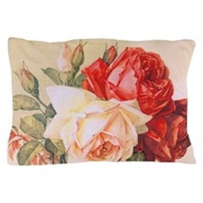 Three Roses Pillow Case