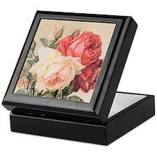 Three Roses Keepsake Box