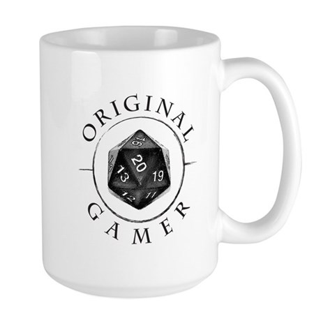 Original Gamer d20 Large Mug