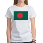 Bangladesh Flag Picture Women's T-Shirt