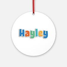 Hayley Spring11B Round Ornament