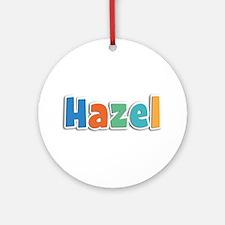 Hazel Spring11B Round Ornament