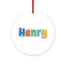 Henry Spring11B Round Ornament