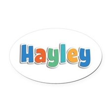 Hayley Spring11B Oval Car Magnet