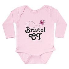 Bristol Conneticut Long Sleeve Infant Bodysuit