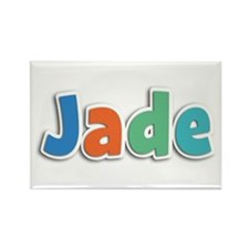 Jade Spring11B Rectangle Magnet