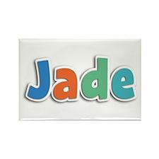 Jade Spring11B Rectangle Magnet