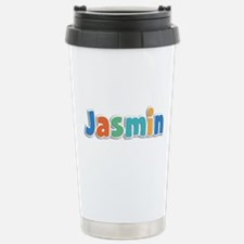 Jasmin Spring11B Stainless Steel Travel Mug