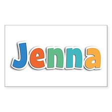 Jenna Spring11B Rectangle Decal